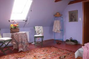 ein Gästezimmer